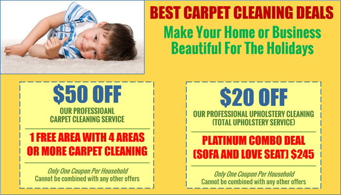 Best Carpet Cleaning and Upholstery Cleaning DEALS!